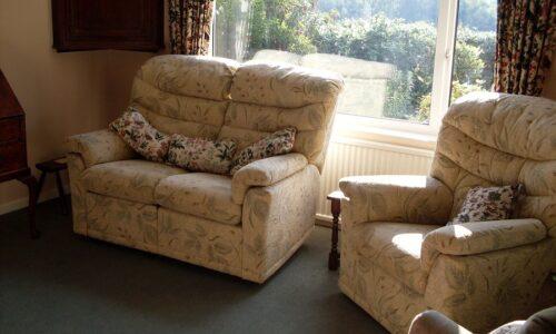 Wayside bungalow sitting room